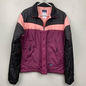 Patagonia Jacket Color Block Puffer Quilted Coat M